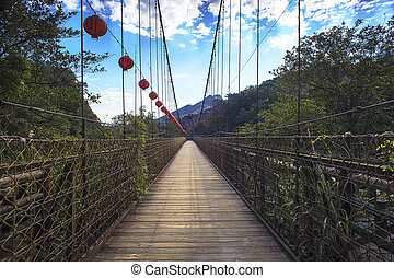 The bridge to beautiful place