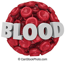 Blood Word Red Cell Cluster Clot Condition Disease