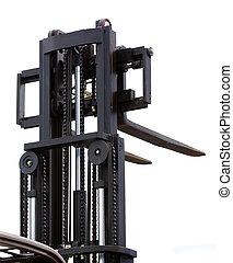 forklift stacker loader - The image of forklift stacker...