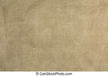 Old burlap fabric for background.
