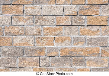 Stone blocks wall background