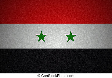 Grunge flag series - Syria
