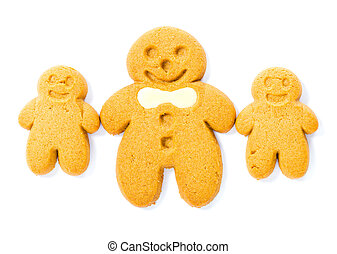 Gingerbread cookies family