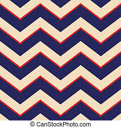 seamless patriotic zig zag stripes background
