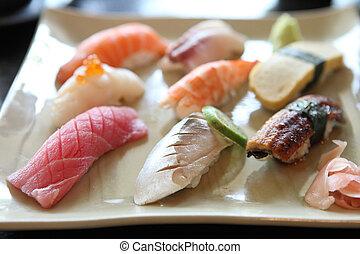 mezcla, Sushi
