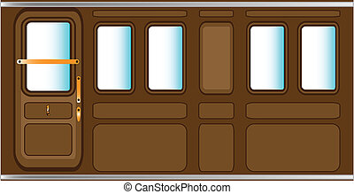 Train Background - A background consisting of a steam train...