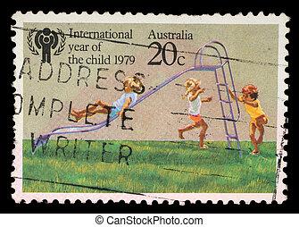A stamp printed in Australia - AUSTRALIA - CIRCA 1979: A...