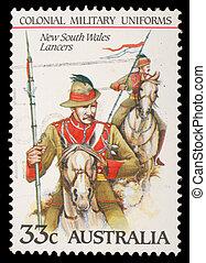 A stamp printed in Australia - AUSTRALIA - CIRCA 1985: A...
