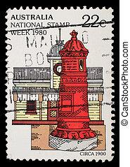 A stamp printed in Australia - AUSTRALIA - CIRCA 1980: A...