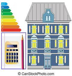 Energy efficiency of buildings