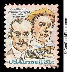à, francobollo, stampato, Stati Uniti, mostra,...