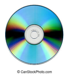 cdrom - fine isolated cdrom image background