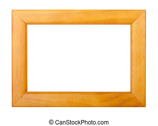 Photo frame. Isolated on white background