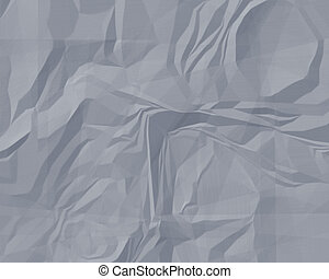 Crumpled Paper - Crumpled and stretched out paper textured...