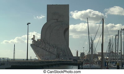 monument to the discoveries in Belem - monument to the...