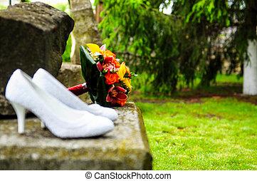 Noiva, sapatos