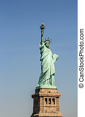 statue of Liberty in New York City - New York City, New York...