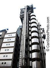 London stock exchange - the london stock exchange on white