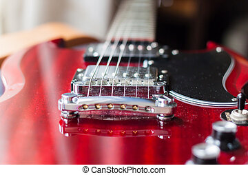 bridge pickup on electric guitar - the bridge pickup on...