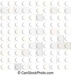 toy cubes pattern - 3d texture of square white constructing...