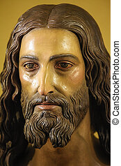 Jesus Christ - RONDA, SPAIN - DEC 1 Statue of Jesus Christ,...