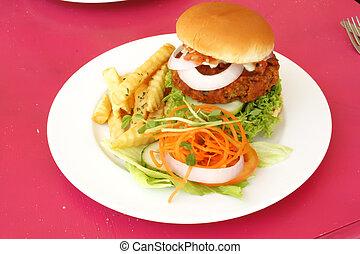 Hamburger Set Meal