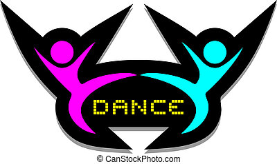 Icon dance - Creative design of icon dance