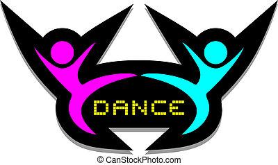 Icon dance - Creative design of icon dance