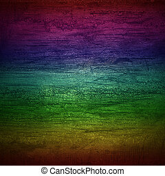 rainbow wall wood texture