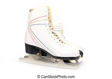 Skates - New skates for figured to go for a drive on ice