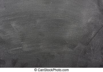 空白, 黑板, 粉筆, 灰塵, 橡皮擦, 標記