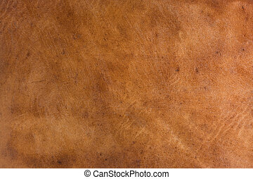 old brown leather background - brown leather abstract from...