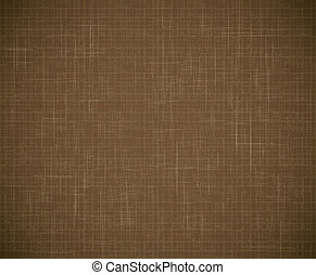Textile texture - Vector brown textile texture background....