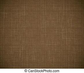 Textile texture - Vector brown textile texture background...