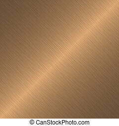 Copper surface with linear gradient