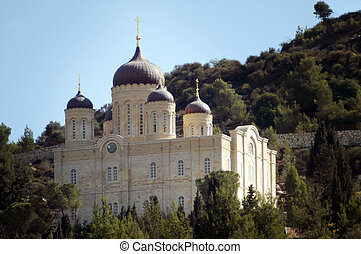 EIN KAREM, ISR - OCT 20:The Russian Orthodox Gorney Convent...