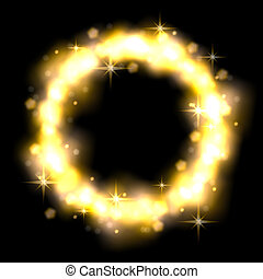 Clip Art of Stardust - A cosmic Nebula with a Neutron Star / Nova ...