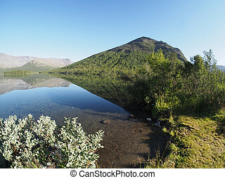 Lake in the mountains