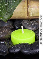 candle spa decoration