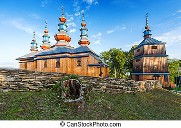 Church in Komancza, Poland - Eastern Orthodox Church in...