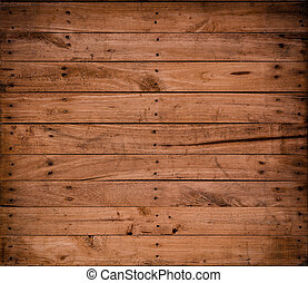 background Brown color nature  pattern detail of pine wood decorative old box wall texture furniture surface