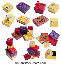set and gift boxes collection