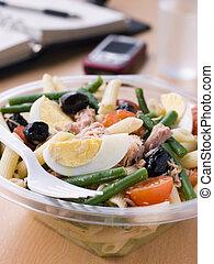 Tuna Pasta Nicoise Salad