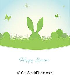 Easter spring background