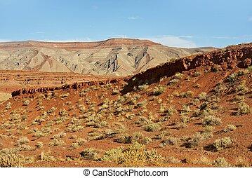 Southern Utah Desert Landscape. Raw Utah Nature.
