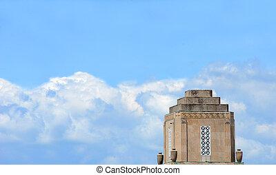 El dorado City Hall - El Dorado's City Hall is framed by...