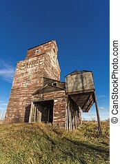 Prairie Grain Elevator - Grain elevators, which have been...