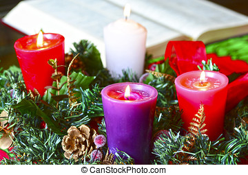 Advent Crown - Advent wreath, or Advent crown, is a...