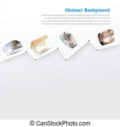 Vector abstract background. Gray lines