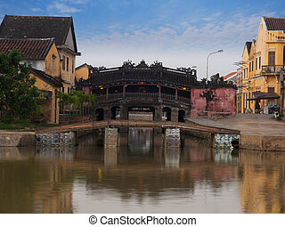Hoi An Ancient TownJapanese Covered Bridge, Vietnam UNESCO...